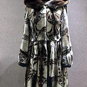 Одежда ручной работы. Ярмарка Мастеров - ручная работа Шуба норковая Орнамент. Handmade.