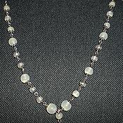 Украшения handmade. Livemaster - original item Beads Jade fireflies. Handmade.