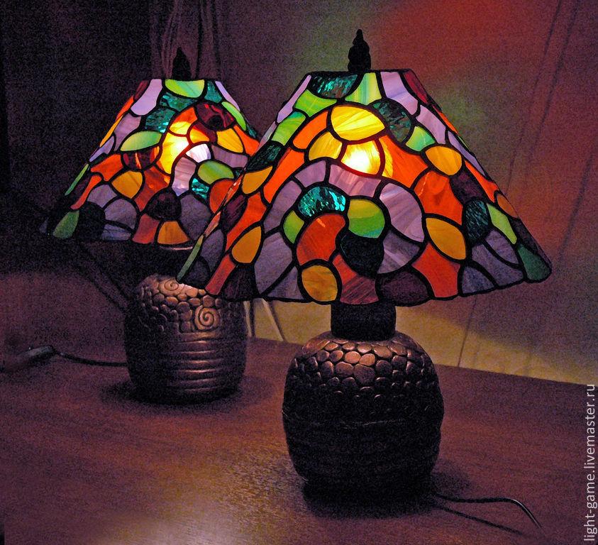 """пара светильников """"Цветные сны"""", , Новосибирск, Фото №1"""