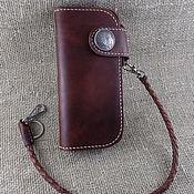 Сумки и аксессуары handmade. Livemaster - original item Wallet style Pailot Rriver Long Wallet PR-CWN-KC. Handmade.