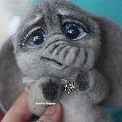 Куклы и игрушки handmade. Livemaster - original item Copyright felt toy elephant Archie. Handmade.