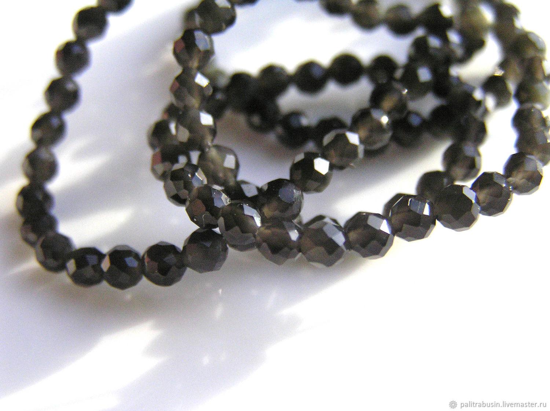 Beads: glass 3 mm 10 pieces, Beads1, Tyumen,  Фото №1