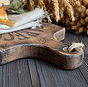Для дома и интерьера ручной работы. Ярмарка Мастеров - ручная работа «Хлеб из Лацио» Разделочная доска /массив дуба/. Handmade.