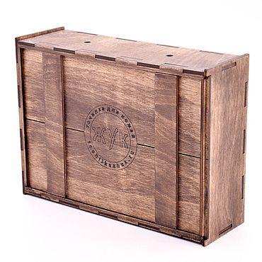 Сувениры и подарки ручной работы. Ярмарка Мастеров - ручная работа Коробка из дерева. Handmade.