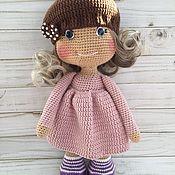 Куклы и игрушки handmade. Livemaster - original item Knitted toys-doll. Handmade.