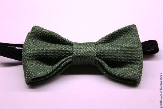 """Галстуки, бабочки ручной работы. Ярмарка Мастеров - ручная работа. Купить галстук-бабочка """"Доллар"""". Handmade. Зеленый, бабочка из ткани"""