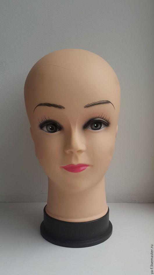 Манекены ручной работы. Ярмарка Мастеров - ручная работа. Купить Манекен женской головы. Handmade. Бежевый, манекен голова