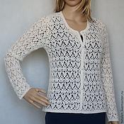Одежда handmade. Livemaster - original item Jacket cashmere-Angora-Merino Cloud. Handmade.