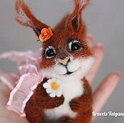 Куклы и игрушки handmade. Livemaster - original item Copyright felted toy squirrel Ray. Handmade.
