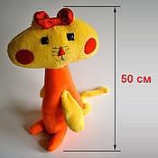 Куклы и игрушки ручной работы. Ярмарка Мастеров - ручная работа Мягкая игрушка по рисунку ребенка (50 см). Handmade.