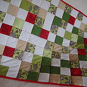 Для дома и интерьера handmade. Livemaster - original item Children`s quilt and cushion cover. Handmade.