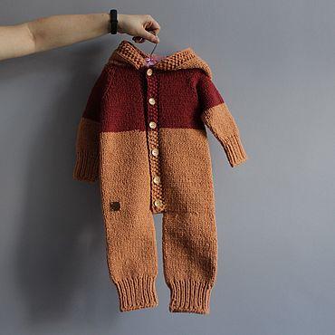Товары для малышей ручной работы. Ярмарка Мастеров - ручная работа Комбинезон. Handmade.