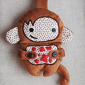 """Куклы и игрушки ручной работы. Ярмарка Мастеров - ручная работа Сенсорная игрушка """"Обезьянка"""". Handmade."""