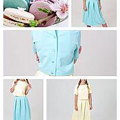 Одежда ручной работы. Ярмарка Мастеров - ручная работа Костюм летний Mint & lime. Handmade.