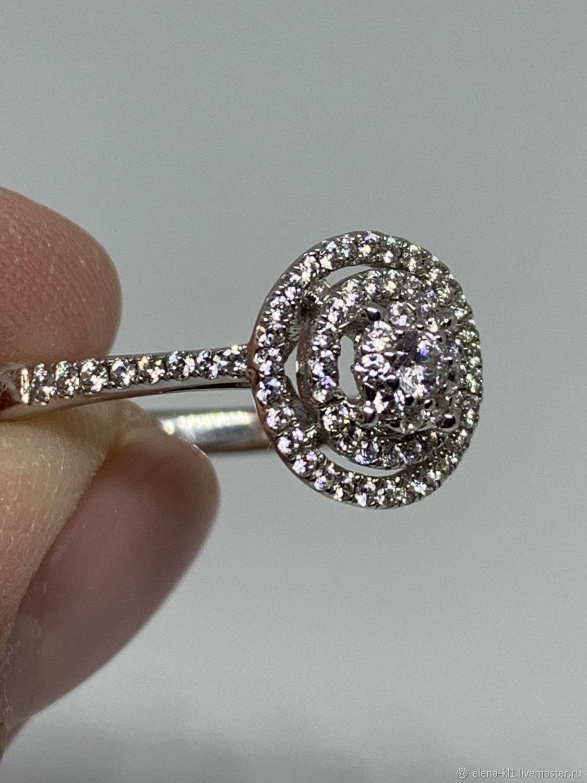 Кольцо из серебра вес 2,63 гр с 16,5 р-р, Кольца, Москва, Фото №1