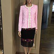 Одежда handmade. Livemaster - original item Elegant pink boucle jacket from Chanel. Handmade.