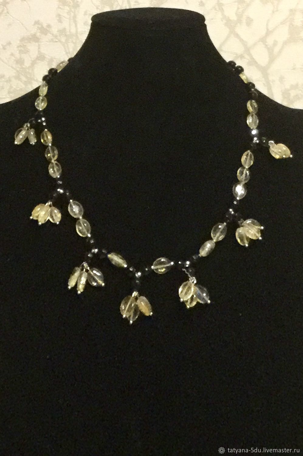 beads: My first delicate necklace, Beads2, Moscow,  Фото №1