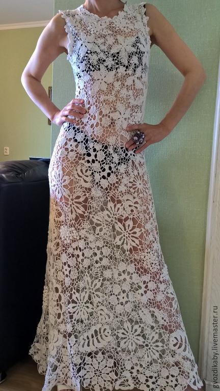 Испанское кружево платье