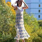 handmade. Livemaster - original item Eden field dress. Handmade.