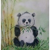 Картины и панно ручной работы. Ярмарка Мастеров - ручная работа Картина.Панда.. Handmade.