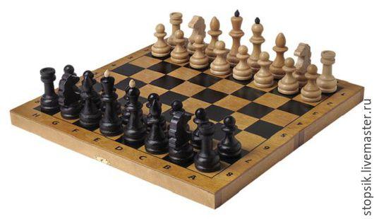 Настольные игры ручной работы. Ярмарка Мастеров - ручная работа. Купить Шахматы Тонированные (тёмные, средние) (36405). Handmade.