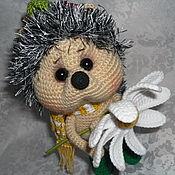 Куклы и игрушки handmade. Livemaster - original item Hedgehog with Camomile. Handmade.