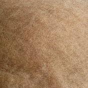 Шерсть ручной работы. Ярмарка Мастеров - ручная работа Верблюжья шерсть для валяния, светло-коричн., 50 гр. Handmade.