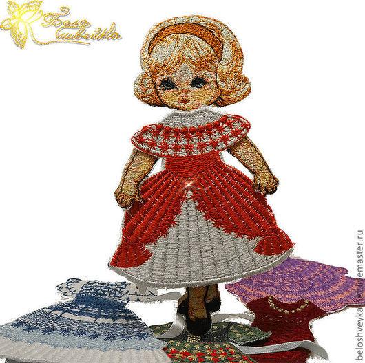 """Развивающие игрушки ручной работы. Ярмарка Мастеров - ручная работа. Купить """"Одень Марию"""" - вышитая куколка. Handmade. Одень куклу"""