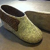 """Обувь ручной работы. Ярмарка Мастеров - ручная работа Валяные тапки """"Кельты"""". Handmade."""