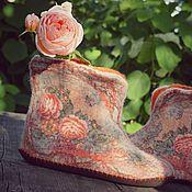 """Обувь ручной работы. Ярмарка Мастеров - ручная работа Чуни """"Нежное прикосновение"""". Handmade."""