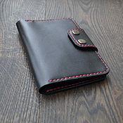 Канцелярские товары handmade. Livemaster - original item Cover for 2 passports made of leather. Handmade.