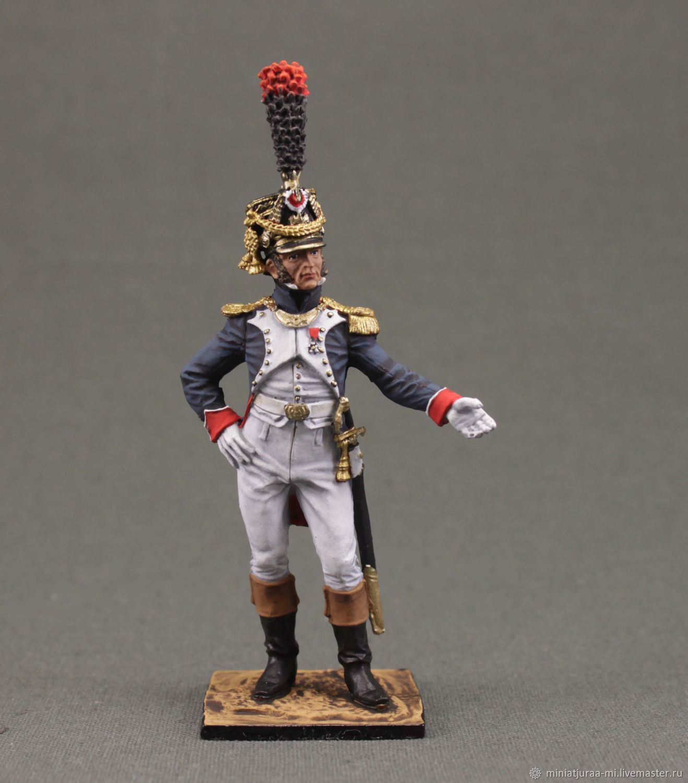 Military miniature soldier 54 mm.Napoleon.France, ,1806. ekcastings, Military miniature, St. Petersburg,  Фото №1