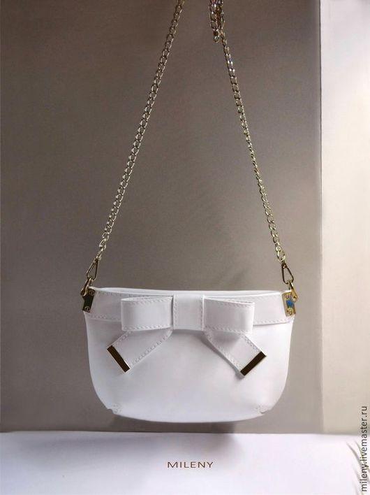 сумка , сумка женская белая , белая сумка ,сумка ручной работы , сумочка маленькая из кожи ,сумка купить