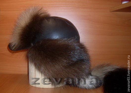 """Для мужчин, ручной работы. Ярмарка Мастеров - ручная работа. Купить шапка """"Малахай"""". Handmade. Мех натуральный, лиса"""