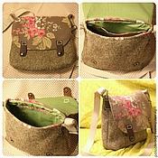 Сумки и аксессуары ручной работы. Ярмарка Мастеров - ручная работа Цветочная сумочка. Handmade.