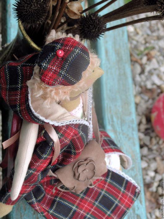 Куклы Тильды ручной работы. Ярмарка Мастеров - ручная работа. Купить Кукла в стиле Тильда Осенний Ангел Октябрина.. Handmade.