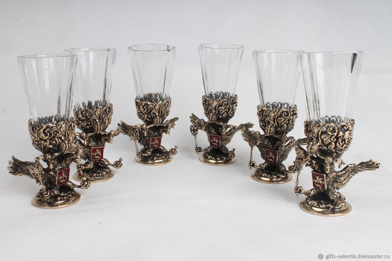 Stack lafitnik ' eagle 3D', Shot Glasses, Vacha,  Фото №1