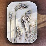 Картины и панно handmade. Livemaster - original item May Botanical Gypsum panels. Handmade.