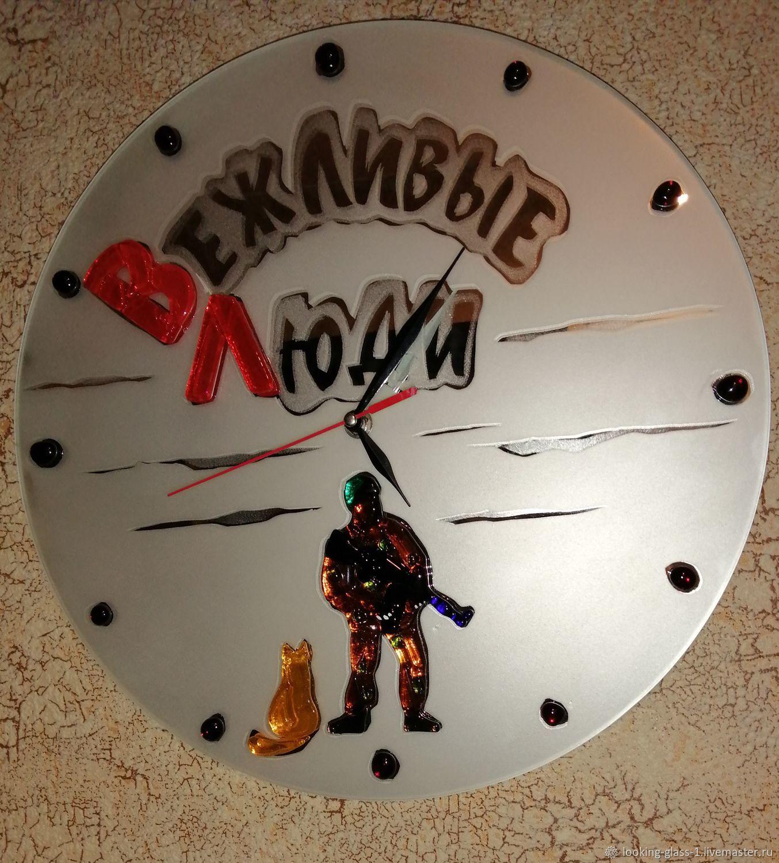 Вежливые люди, Часы классические, Кемерово,  Фото №1
