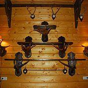 Полки ручной работы. Ярмарка Мастеров - ручная работа Полки с лосиными рогами. Handmade.