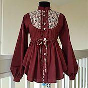 handmade. Livemaster - original item Button-down shirt dress. Handmade.