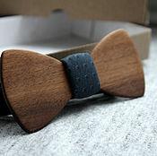 Аксессуары ручной работы. Ярмарка Мастеров - ручная работа Деревянная галстук-бабочка Classic из американского ореха. Handmade.