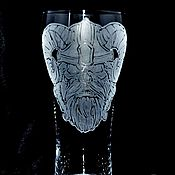 Посуда handmade. Livemaster - original item The Fallen Viking. Beer glass. Handmade.