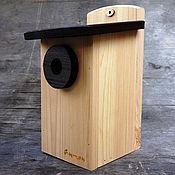 Для дома и интерьера handmade. Livemaster - original item Birdhouse sinichnik