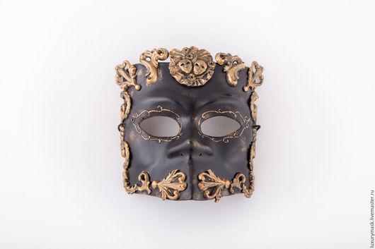 Карнавальные костюмы ручной работы. Ярмарка Мастеров - ручная работа. Купить Венецианская маска Bauta Barocco. Handmade. Черный, маскарад