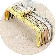 Материалы для творчества ручной работы. Ярмарка Мастеров - ручная работа Фермуар пришивной 20 см, рамочный замок для сумки. Handmade.