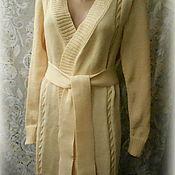 """Одежда ручной работы. Ярмарка Мастеров - ручная работа Кардиган """" Крем-брюле"""". Handmade."""