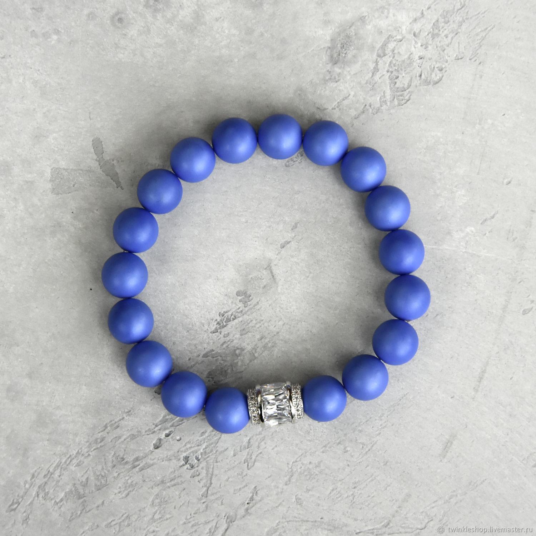 Blue bracelet from Mallorca Sky, Bead bracelet, Moscow,  Фото №1