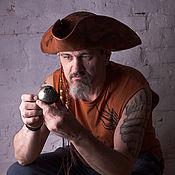 Шляпа пиратская с рисунком Кракена