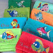 Для дома и интерьера ручной работы. Ярмарка Мастеров - ручная работа Пляжное полотенце. Handmade.